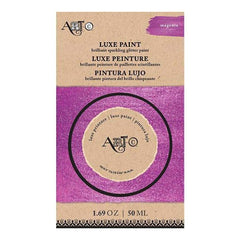 Art-C Luxe Brilliant Sparkling Glitter Paint 50Ml - Magenta Metallic