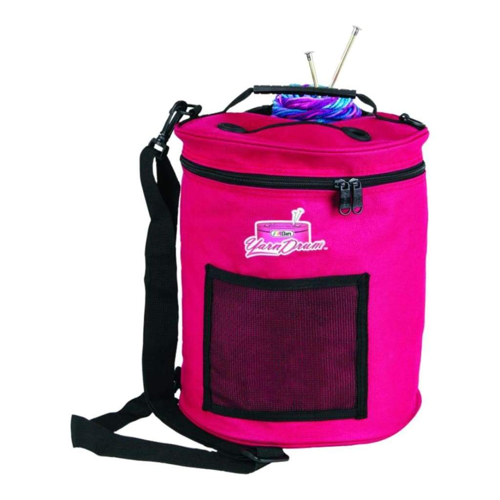 "ArtBin Yarn Drum 12""X12.75"" Raspberry"