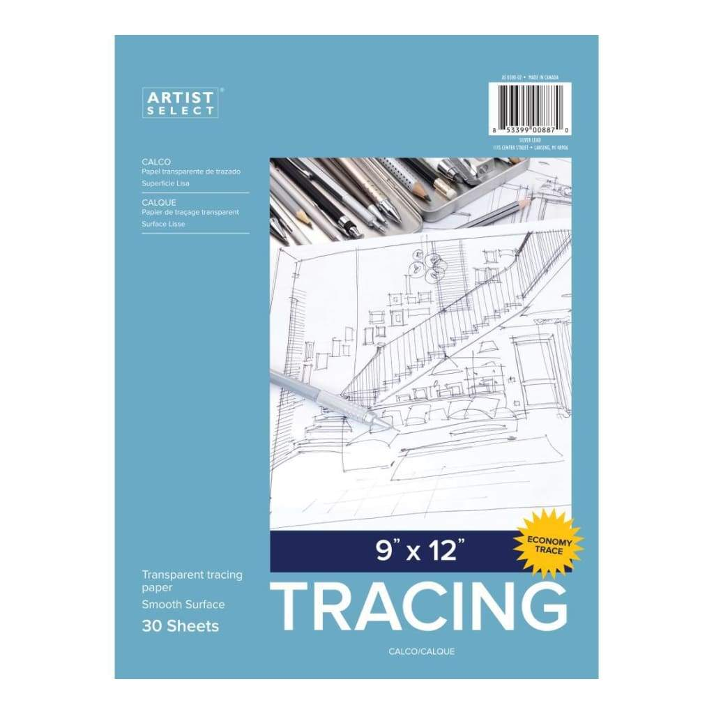Artist Select Advantage Tracing Pad 9 inch X12 inch 30 Sheets