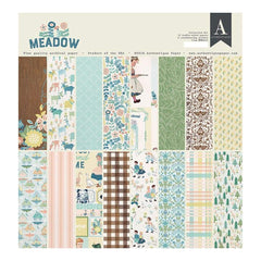 Authentique Collection Kit 12 inch X12 inch Meadow