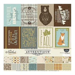 Authentique Collection Kit 12 Inch X12 Inch  Nestled