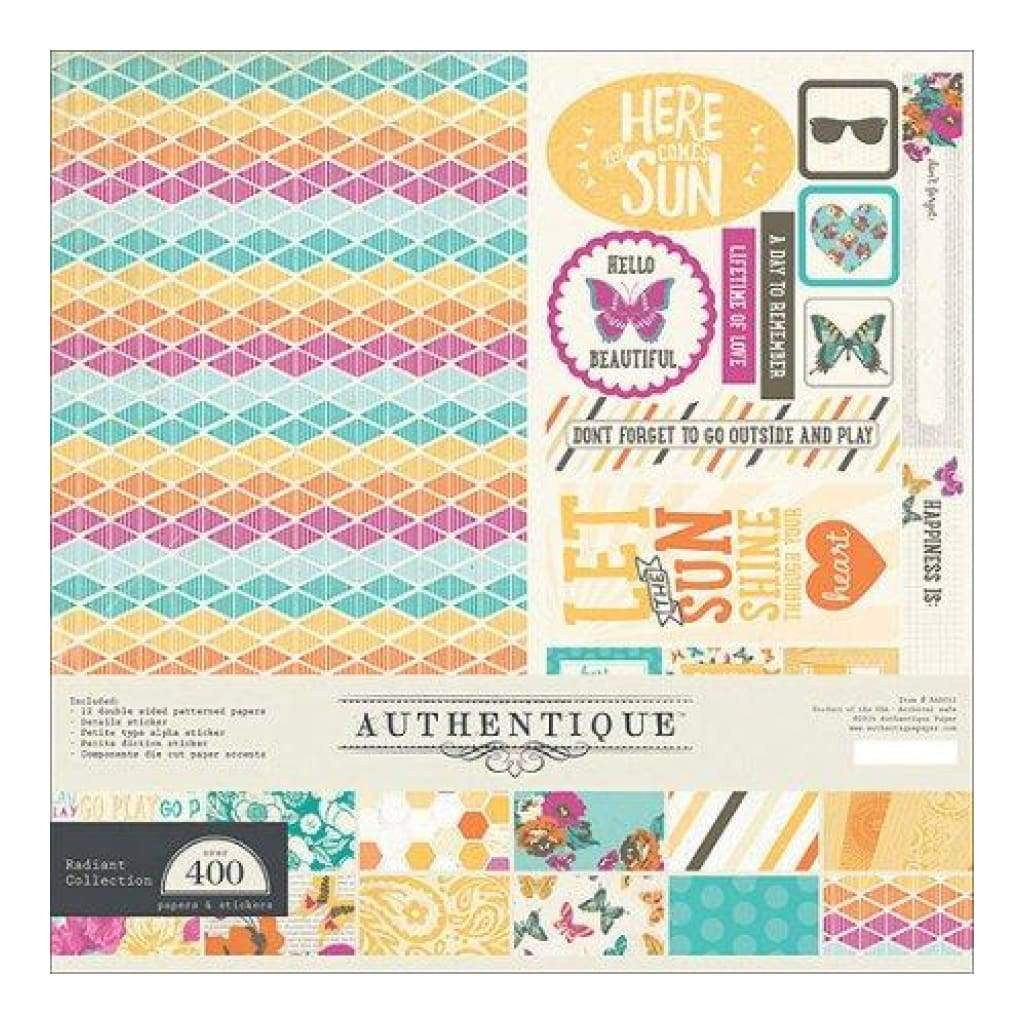 "Authentique - Radiant Collection Kit 12""X12"""