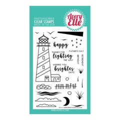 Avery Elle Clear Stamp Set 4X6 inch - Shine Bright