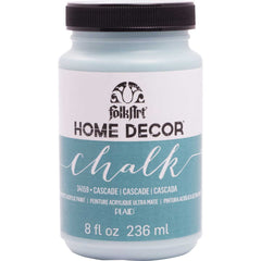 FolkArt Home Decor Chalk Paint 8oz - Cascade