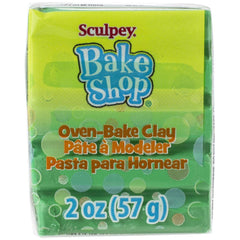 Sculpey - Bake Shop Oven-Bake Clay 2oz - Green
