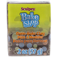 Sculpey - Bake Shop Oven-Bake Clay 2oz - Brown