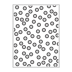 Background Darice - Embossing Folder 4.25 inch X5.75 inch - Sequin