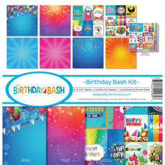 Reminisce Collection Kit 12in X 12in - Birthday Bash