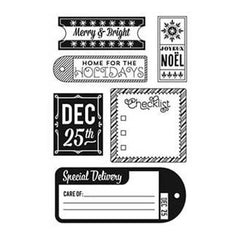 Basicgrey - 25Th & Pine - Clear Stamps - December 25