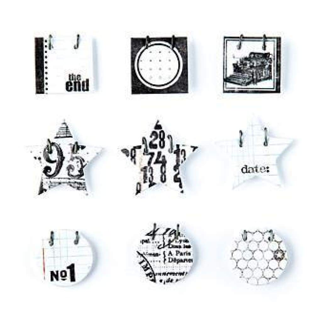 Basicgrey - Basics White - Decorative Sticker Small Details