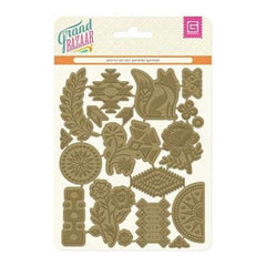 Basicgrey - Grand Bazaar Gold Foil Diecuts