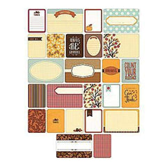 Becky Higgins - Project Life - Themed Cards 60 Pack - Fall