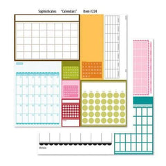 Bella Blvd Sophisticates - Calendars 12X12 D/Sided Paper  (Pack Of 10)