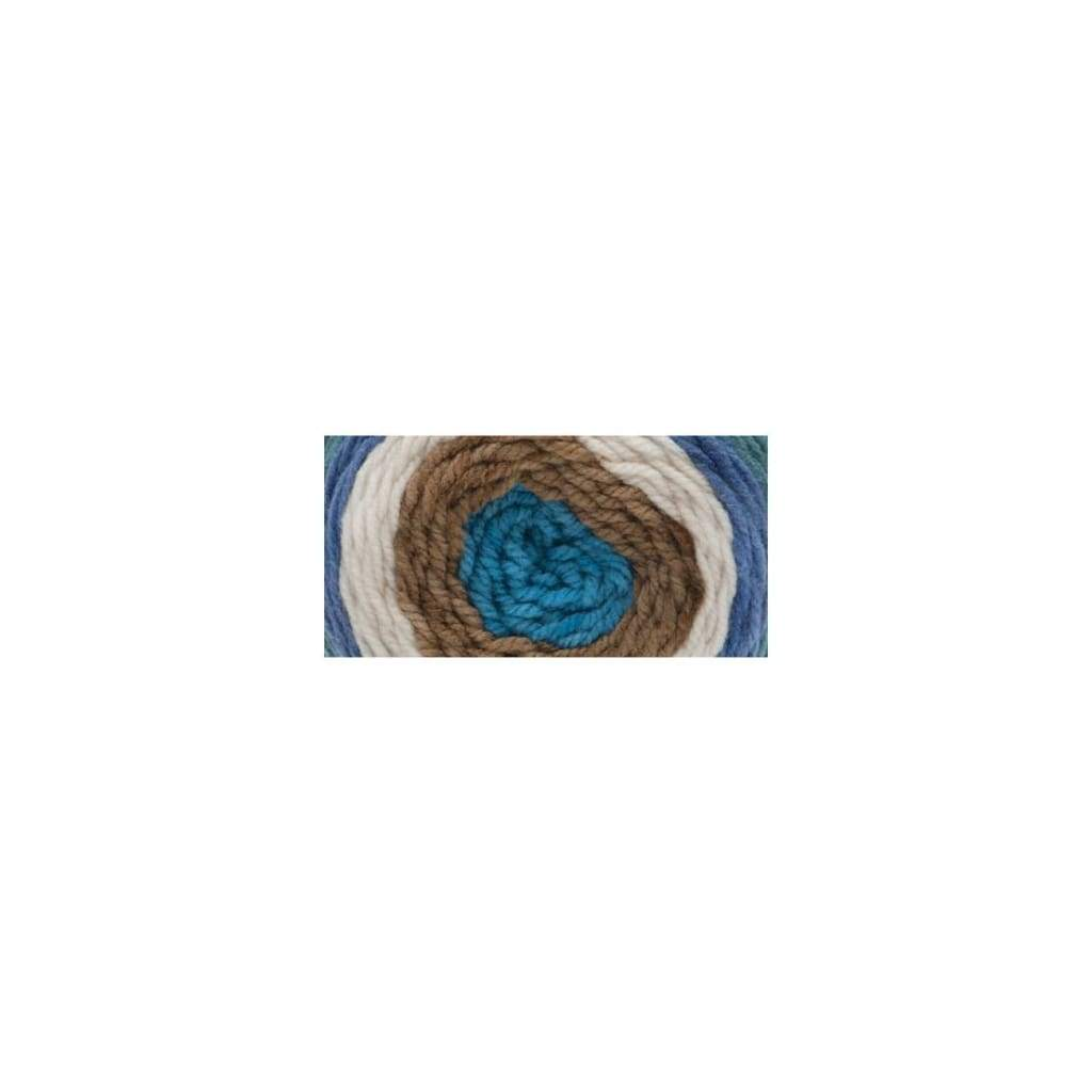 Bernat Pop! Yarn - Birch Bark And Blue
