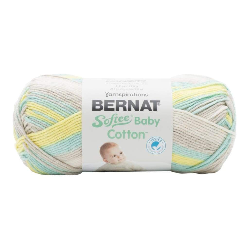 Bernat Softee Baby Cotton Yarn - Sunny Sidewalk Variegated
