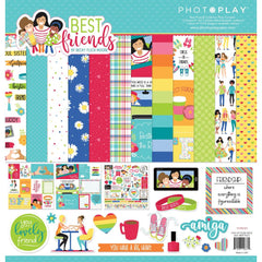 PhotoPlay Collection Pack 12 inch X 12 inch - Best Friends