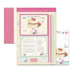 Birthdays For Her Luxury A4 Topper Set Birthday Bake
