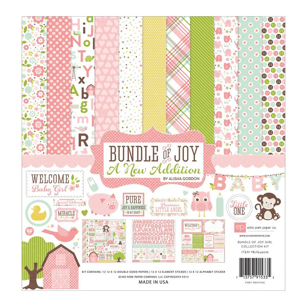 Echo Park - Bundle Of Joy Kit - A New Addition - Baby Girl