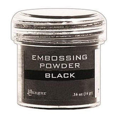 Black - Ranger Embossing Powder .60oz