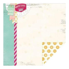 Bo Bunny - Candy Cane Lane Paper - Size:12X12 Inch
