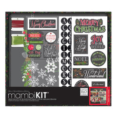 Me and My Big Ideas - 12 x 12 Album Kit - Chalk - Merry Christmas