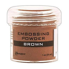 Brown - Ranger Embossing Powder 1 Oz