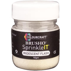 Brusho SprinkleIT 10g - Iridescent Flash