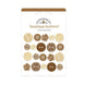 Doodlebug - Boutique Buttons 20 pack - Bon Bon