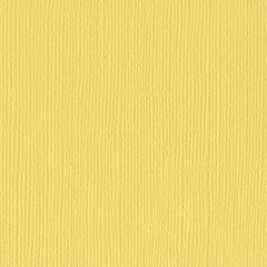 Bazzill Mono Cardstock 12in x 12in - Lemonade/Canvas
