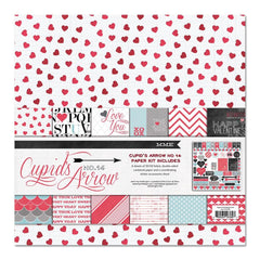 My Mind's Eye - Cupid's Arrow Collection - 12 x 12 Paper Kit