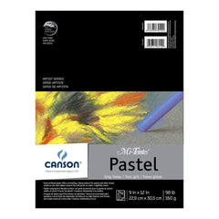Canson Mi-Teintes Pastels Paper Pad 9 inch X12 inch Gray Tones 24 Sheets