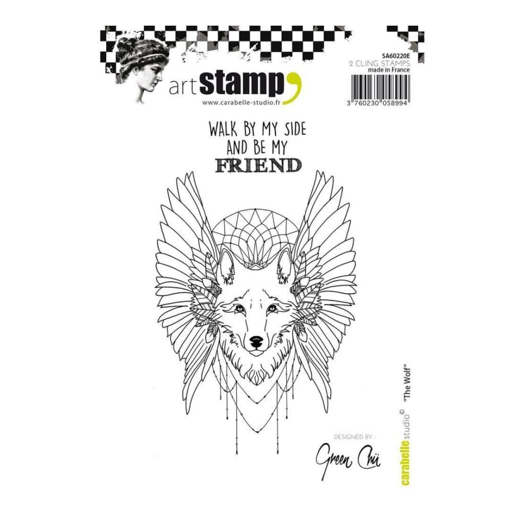 Carabelle Studio Cling Stamp A6 - The Wolf