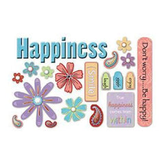 Carolee's Creations - Happiness Foam Stickers