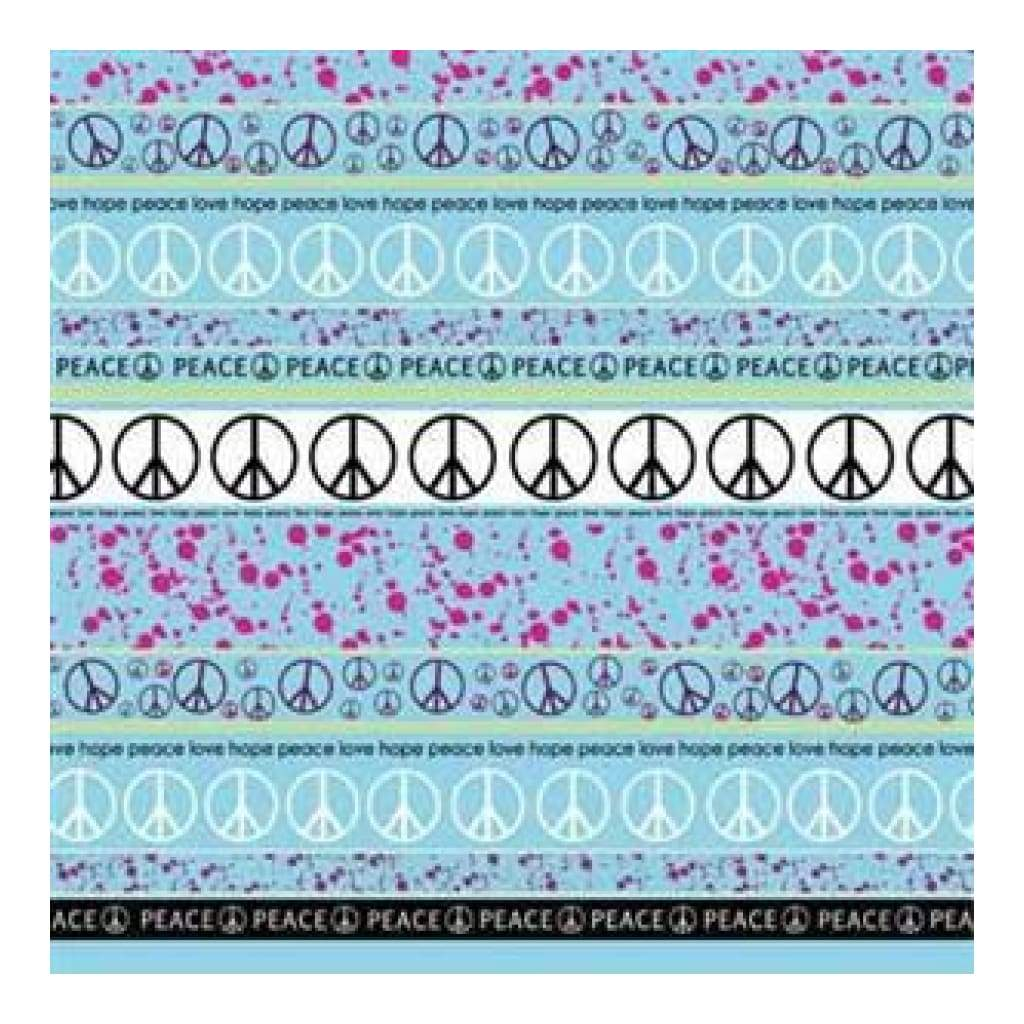 Carolees Creations - Peace- Love- Hope 12X12 Paper (Pack Of 10)