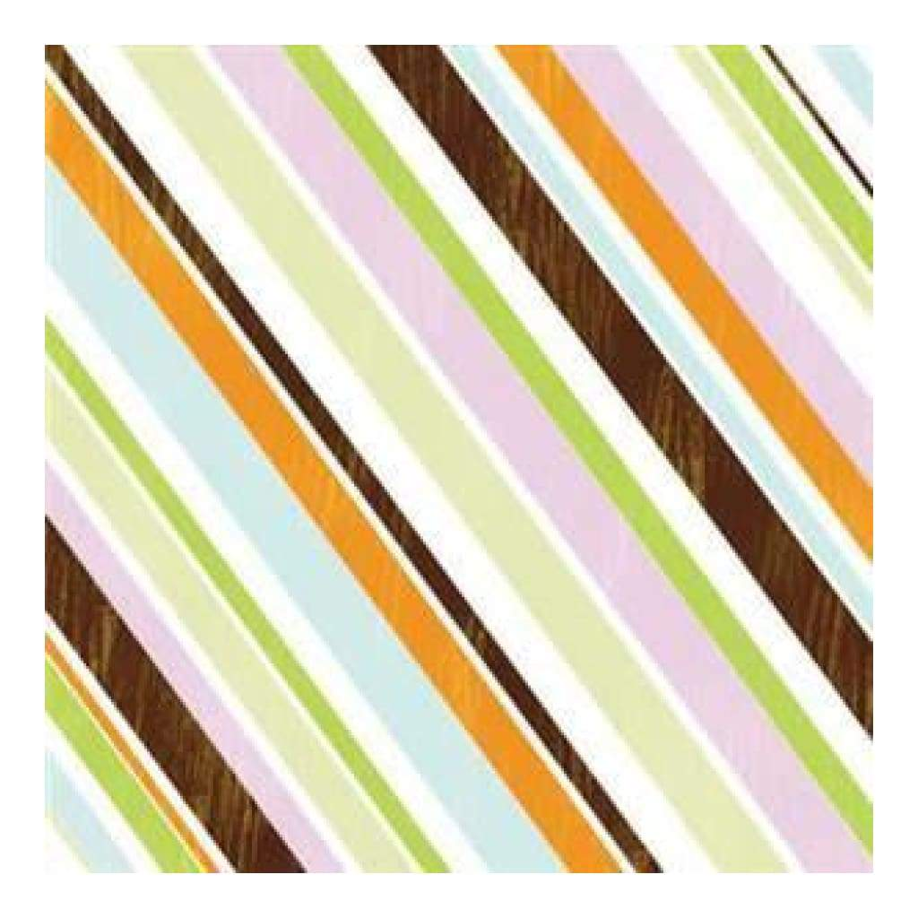 Carolees Creations - Stylish Stripes 12X12 Paper (Pack Of 10)