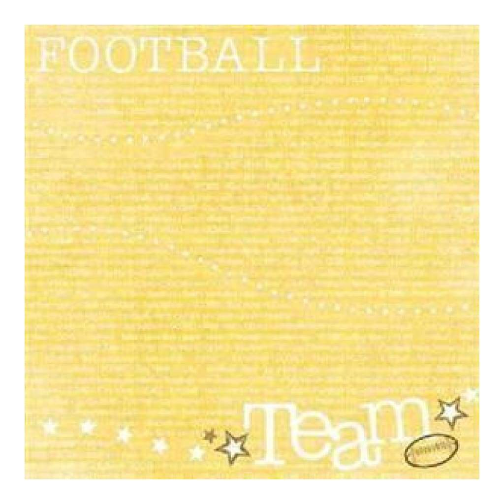 Carolees Creations - Team Up 12X12 Paper (Pack Of 10)