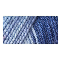 Caron Simply Soft Ombres Yarn - Saturday Blue Jeans - 5oz/141g