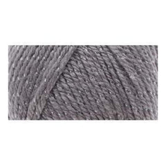 Caron Simply Soft Party Yarn - Platinum Sparkle - 3oz/85g