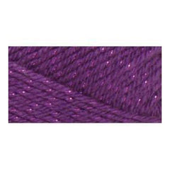Caron Simply Soft Party Yarn - Purple Sparkle - 3oz/85g