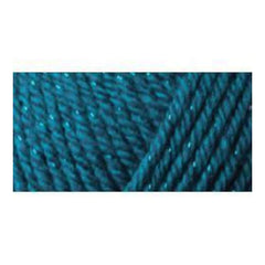 Caron Simply Soft Party Yarn - Teal Sparkle - 3oz/85g
