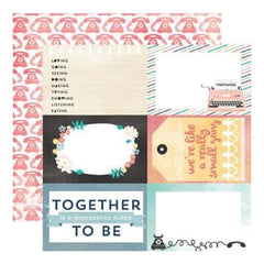Carta Bella - Hello Again - Together 12X12 D/Sided Paper  (Pack Of 10)