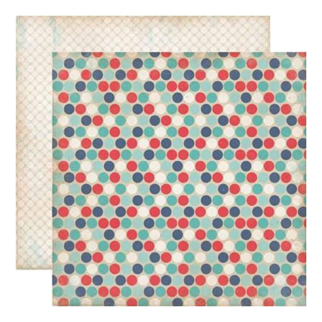 Carta Bella - Rough & Tumble - Daring Dots 12X12 D/Sided Paper  (Pack Of 10)