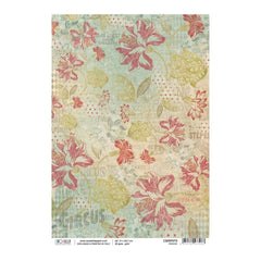 Ciao Bella - Decoupage Rice Paper A4 - Parade, Collateral Rust