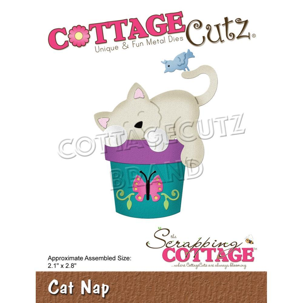 Cottage Cutz - Cat Nap 2.1 X 2.8 inch