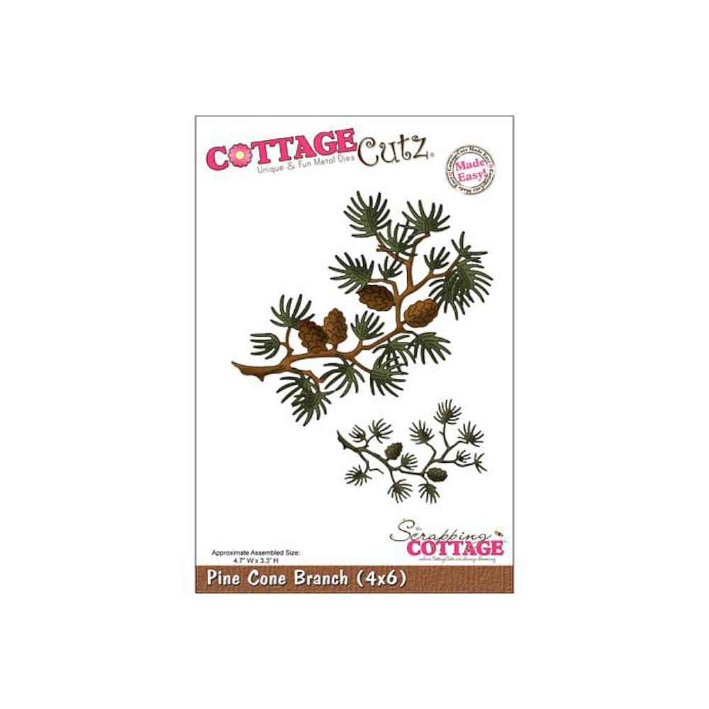 CottageCutz Dies - Pine Cone Branch