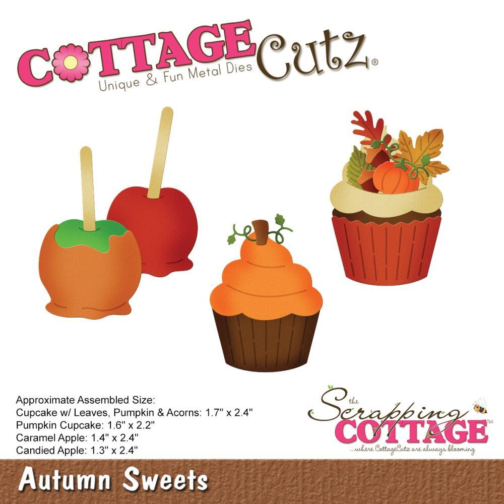 CottageCutz Die Autumn Sweets 1.3inch To 2.4inch