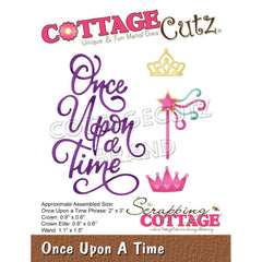 CottageCutz Dies - Once Upon A Time .6inch To 3inch
