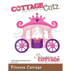CottageCutz Dies - Princess Carriage 2.5inch X2.5inch
