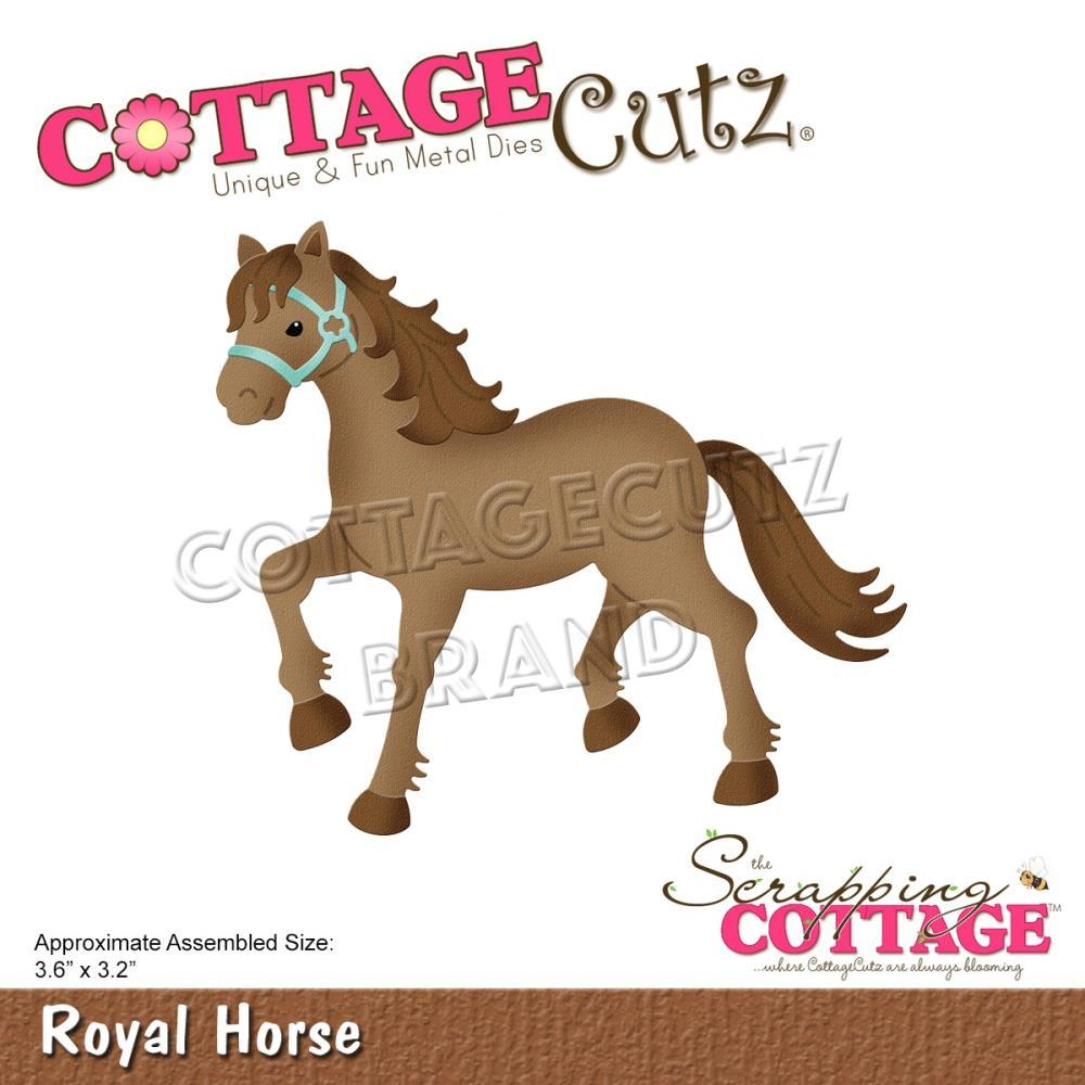 CottageCutz Dies - Royal Horse 3.6inch X3.2inch