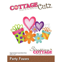 CottageCutz Dies - Party Favors, 2.9 inchX1.9 inch